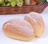 Treasure Mart 注意 食べないで下さい パン屋さんの菓子パン型リストレスト キーボードクッション