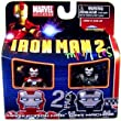 Marvel Minimates Series 35 Mini Figure 2Pack Iron Man Mark V &amp; War Machine