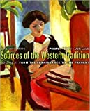 img - for Sources of the Western Tradition (text only) 7th (Seventh) edition by M. Perry,J. R. Peden,T. H. Von Laue book / textbook / text book