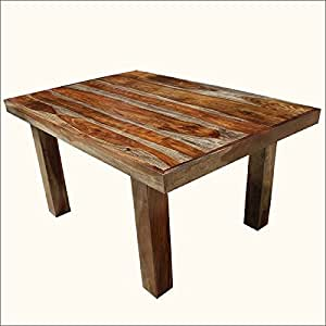 70 solid wood dallas ranch rectangular for 6 person dining room table