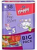 Bella Baby Happy Windeln Größe 5  Junior 12-25 kg Big Pack, 4er Pack (4 x 58 Windeln)