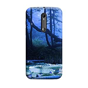 Ebby Premium Printed Mobile Back Case Cover With Full protection For Moto G3 / Moto G Turbo (Designer Case)