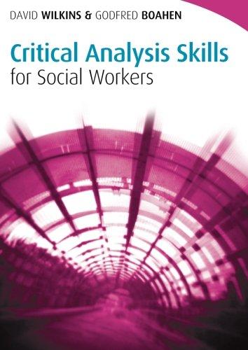 social work critical analysis