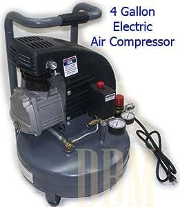 Amazon.com: Portable 2 HP 4 Gallon Electric Air Compressor