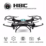 ONCHOICE H8C Quadrocopter Drohne mit 2MP HD Kamera Quadcopter Spielzeug