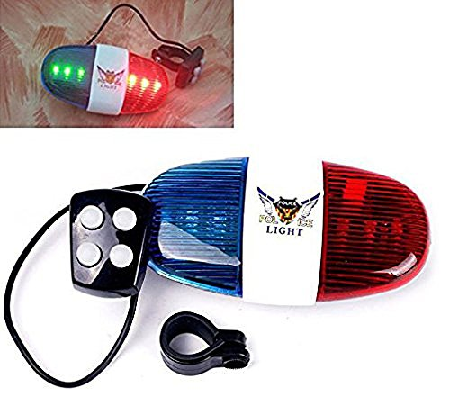 Durable-Plastic-4-Tone-Whistle-Red-and-Blue-Police-Light-Lamp-Electric-Horn-for-Bicycle