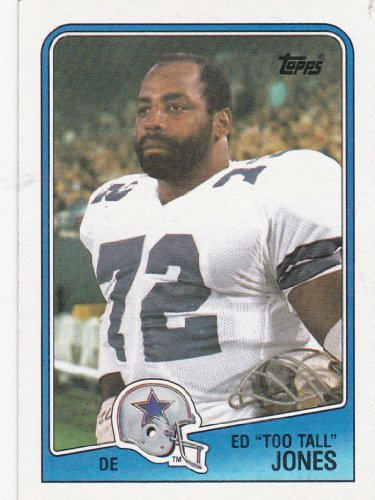 Ed Too Tall Jones Dallas Cowboys (Football Card) 1988 Topps #266 at Amazon.com