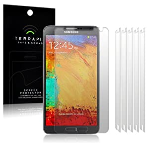 Samsung Galaxy Note 3 N9000 6-in-1 Pack Terrapin Screen Protector Guard Foil The Keep Talking Shop®