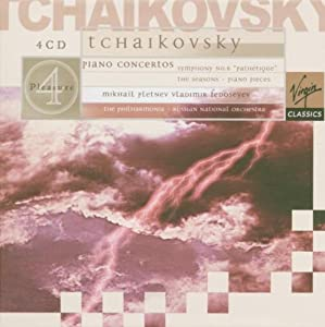 Tchaikovsky: Piano Concertos, Symphony Pathetique, The Seasons, & Piano Pieces; Mikhail Pletnev/Russian National Orchestra (4 CD's)