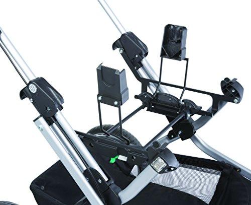 Adapter für Autositz Maxi-Cosi, Kiddy - schwarz