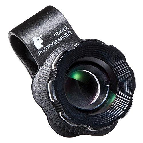 iPhoneも対応したカメラ部分を挟むだけのスマホ望遠レンズキット!2倍ズームで2,480円(400-CAM040)