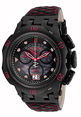 Invicta Men's 17183BWB Jason Taylor Analog Display Swiss Quartz Black Watch