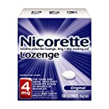 Nicorette Lozenges 4 mg, Original Flavor, 108 ct.