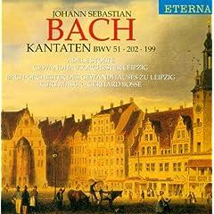 """Weichet nur, betrubte Schatten, BWV 202, """"Wedding Cantata"""": Recitative: So sei das Band der keuschen Liebe"""