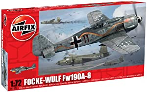 Airfix A01020 Focke Wulf Fw190A-8 Model Kit, 1:72 Scale from Airfix