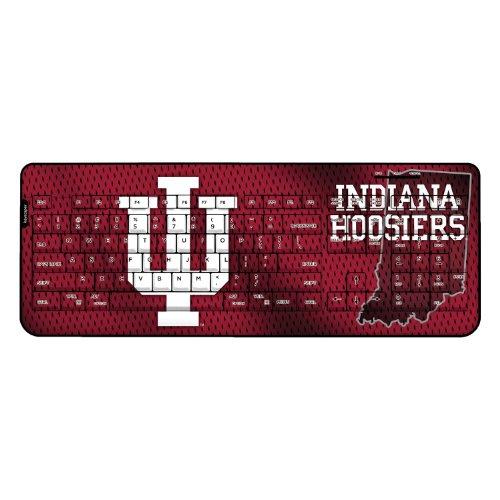 Indiana Hoosiers Wireless Usb Keyboard Ncaa