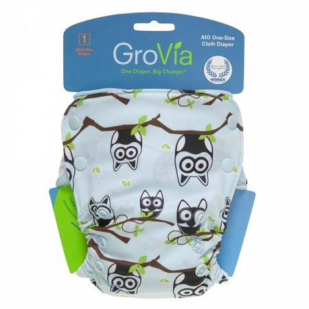 GroVia Organic Cotton One Size Diaper