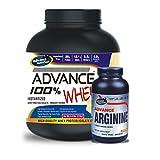 Advance 100% Whey Protein 2kg Vanilla & Advance Arginine 600mg 240 Capsules Combo Offer