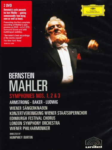 Mahler - Symphonies Nos. 1, 2 & 3 ~ Leonard Bernstein, Sheila Armstrong, Janet Baker, Christa Ludwig, Wiener Philharmoniker, London Symphony Orchestra (Mahlers 2nd Symphony compare prices)