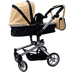 Amazon.com: Mommy & me 2 in 1 Deluxe doll stroller EXTRA ...