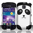 For Samsung Illusion / Galaxy Proclaim i110 (Verizon/Straight Talk) Rubberized Design Cover - Panda Bear
