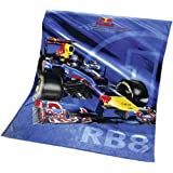 """Global Labels G 58 900 RB8 120 Red Bull Polarfleecedecke """"Sebastian Vettel RB8"""", Polyester, 150 x 200 cm"""