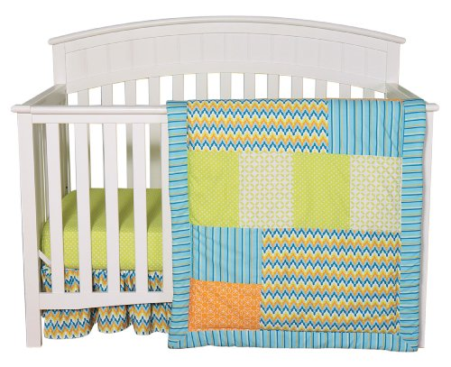 Trend Lab 3 Piece Crib Bedding Set, Levi