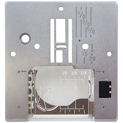 Janome Needle Plate For Models 509, 521, 525S, 625E, 7318 & Sewist 500 (Janome Sewist 500 compare prices)