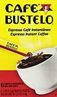 Cafe Bustelo Instant Coffee Single Serve Packets, 6 Count (Pack of 12)