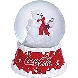 Westland Giftware Resin Water Globe, Coca-Cola Holiday Polar Bears, 100 mm Waterglobe