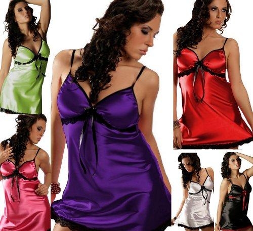 Nine X- Sexy Reizwäsche Negligee Gr. 34 - 50, S-6XL Viele Farben