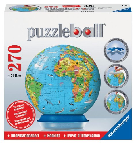 Children's Globe 270 Piece Puzzleball - 1