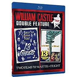 William Castle Double Feature - 13 Ghosts & 13 Frightened Girls - Blu-ray [Blu-ray]