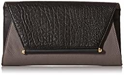 Vince Camuto Addy Clutch, Smoke/Black, One Size