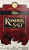 Diamond Crystal KOSHER SALT - 1 box, 3 lb