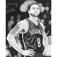 Deron Williams Officially Licensed Sports Art by Victory Fine Art