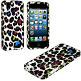 myLife (TM) Colorful Leopard Spots Print Series (2 Piece Snap On) Hardshell Plates Case for the iPhone 5/5S (5G... by myLife Brand Products
