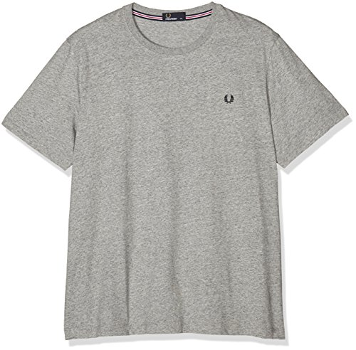 FRED PERRY FP Crew Neck T-Shirt, Maglietta Uomo, Vintage Steel MA, M