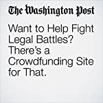 Want to Help Fight Legal Battles? There's a Crowdfunding Site for That. | Janell Ross