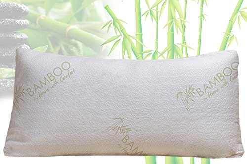 Bamboo By Home With Comfort - Firm Bamboo Pillow With Shredded Memory Foam and Stay Cool Cover (How Many Days Is Standard Shipping)