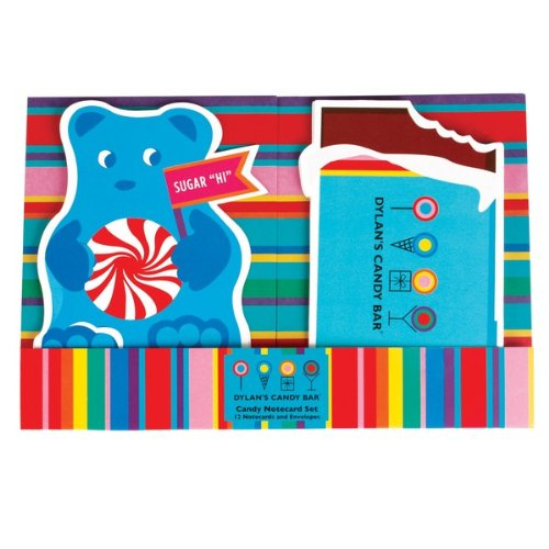 Dylan's Candy Bar Candy Design Notecard Set