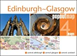 Edinburgh & Glasgow Popout Map (Popout Maps)