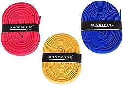Flat Sports Shoe Laces Sport Shoelace Casual Shoe Laces - 3 Pair Set