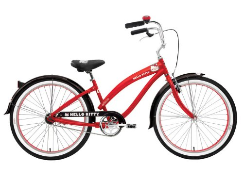 Nirve Hello Kitty Retro Kitty 26 Women's Cruiser Bicycle