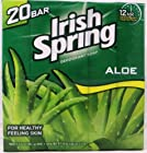 Irish Spring With Aloe Deodorant Soap 20 Bar Value Pack