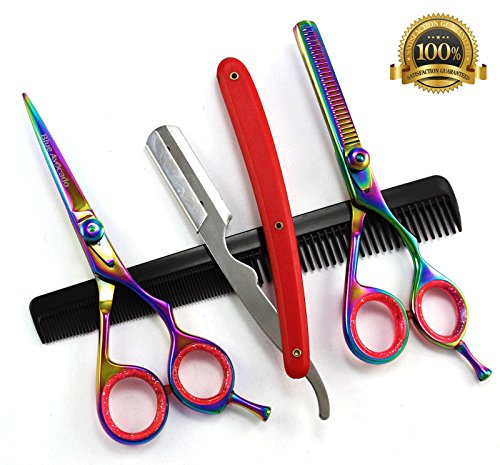 blue-avocado-4-er-scherenset-with-comb-included-thinning-scissors-for-professional-hairdressers-and-