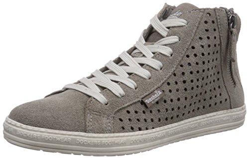 Dockers by Gerli 32LN242, Sneaker alta donna, Grigio (Grau (grau 200)), 38