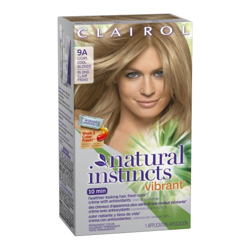 Clairol Natural Instincts Vibrant Permanent Hair Color 9A, Alive with