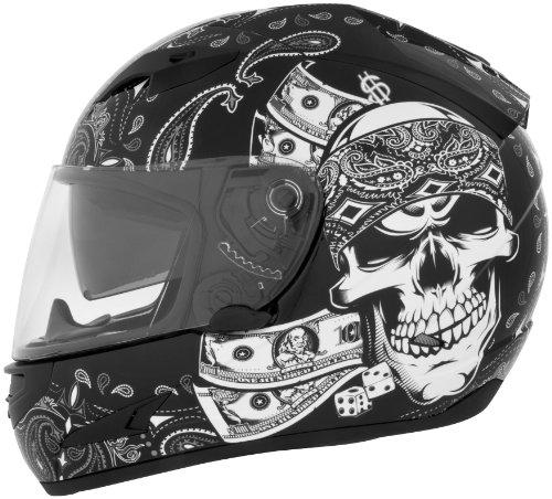 Cyber Helmets Lethal Threat US-97 Thug Helmet , Distinct Name