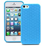 Fosmon DURA Series Honeycomb Case for Apple iPhone 5 - Sky Blue